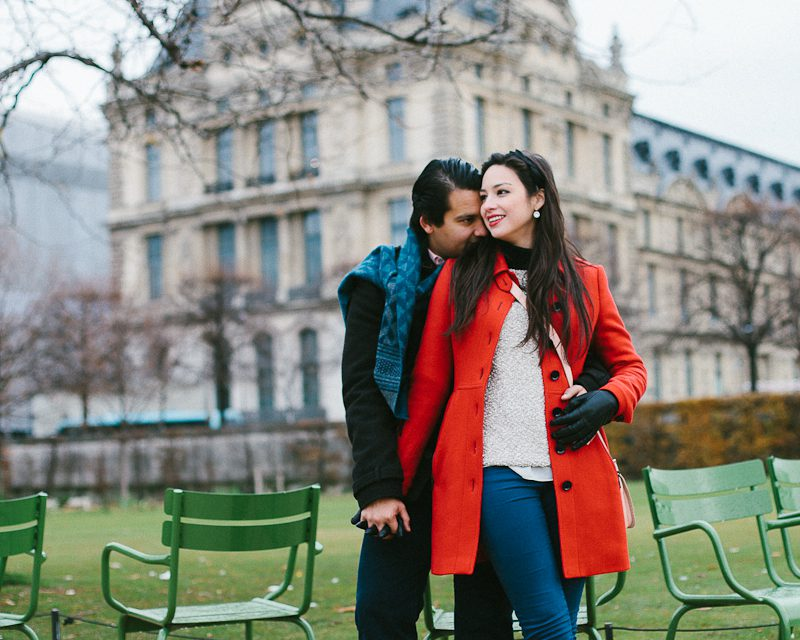 First Anniversary in Paris. Just Try NOT to Smile at These Photos. Right?