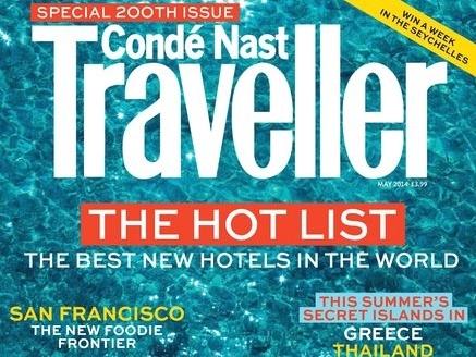 Conde Nast Traveller Magazine & Flytographer