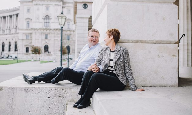 Romantic Vacation Photos in Vienna