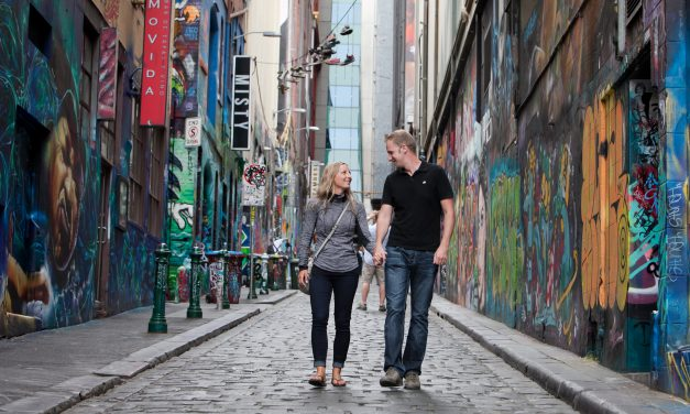 Top 5 Graffiti Laneways in Melbourne