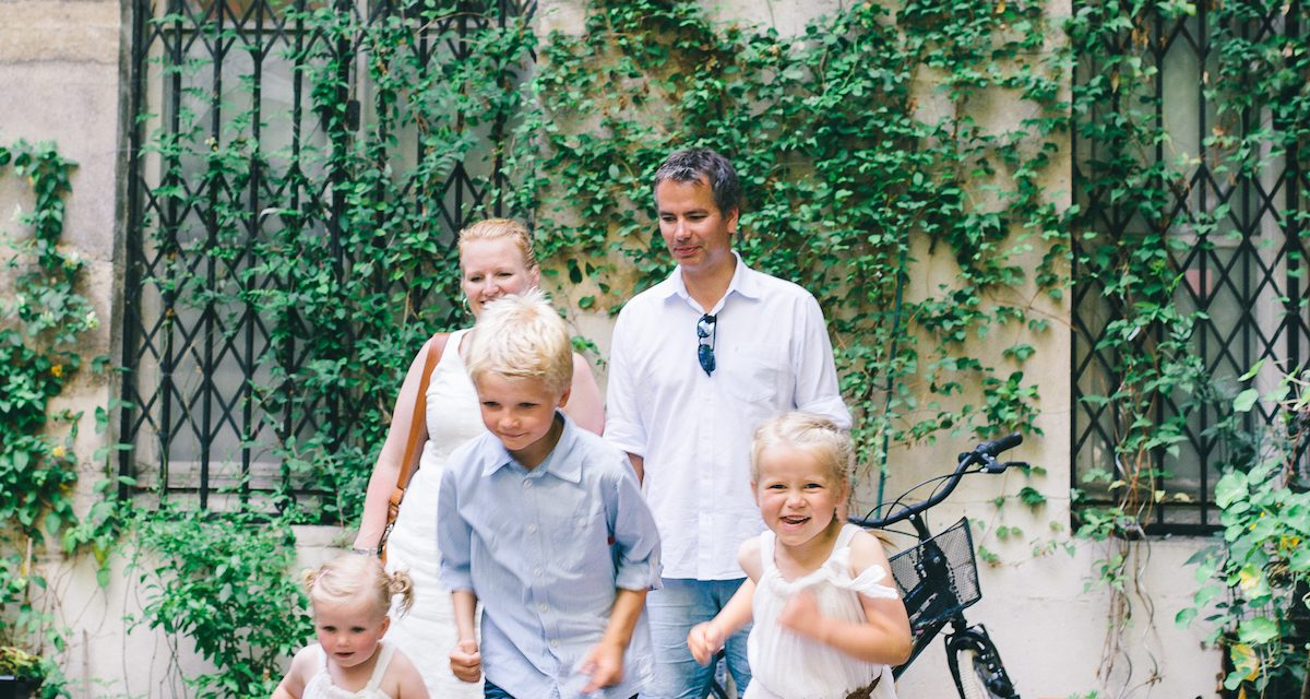 Looking Back: Two Years of Family Memories from Paris – PART ONE