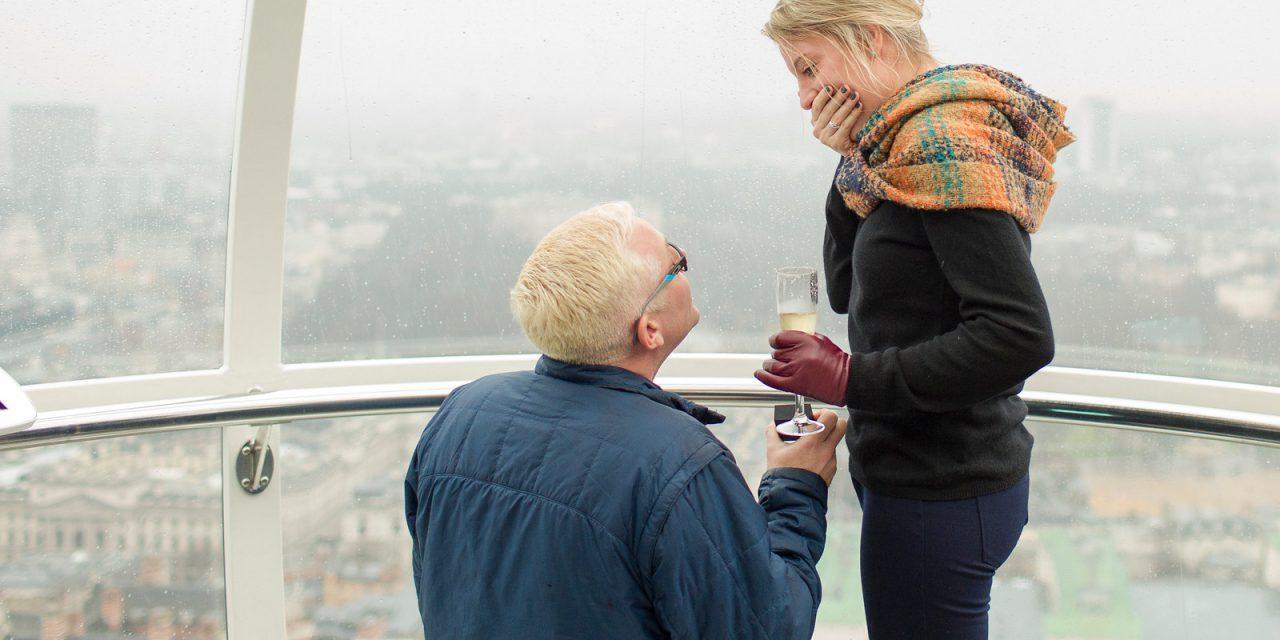 A Surprise Proposal on the London Eye