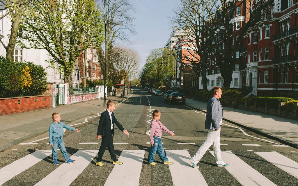 Fab Beatles Abbey Road Redux