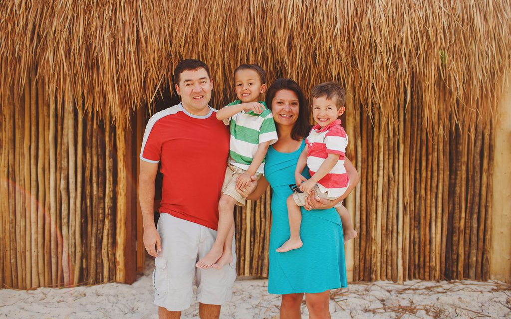 Family Love in Island Paradise