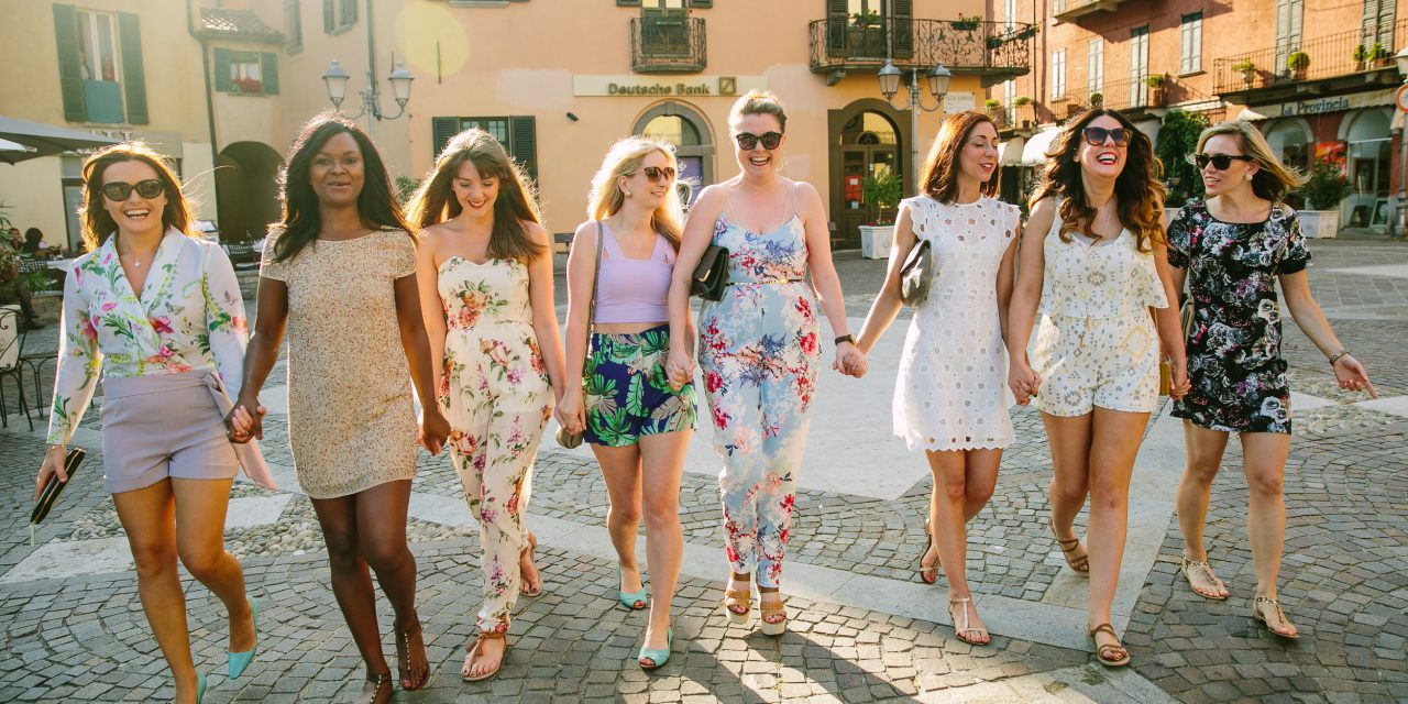 Bachelorette Bash in Lake Como
