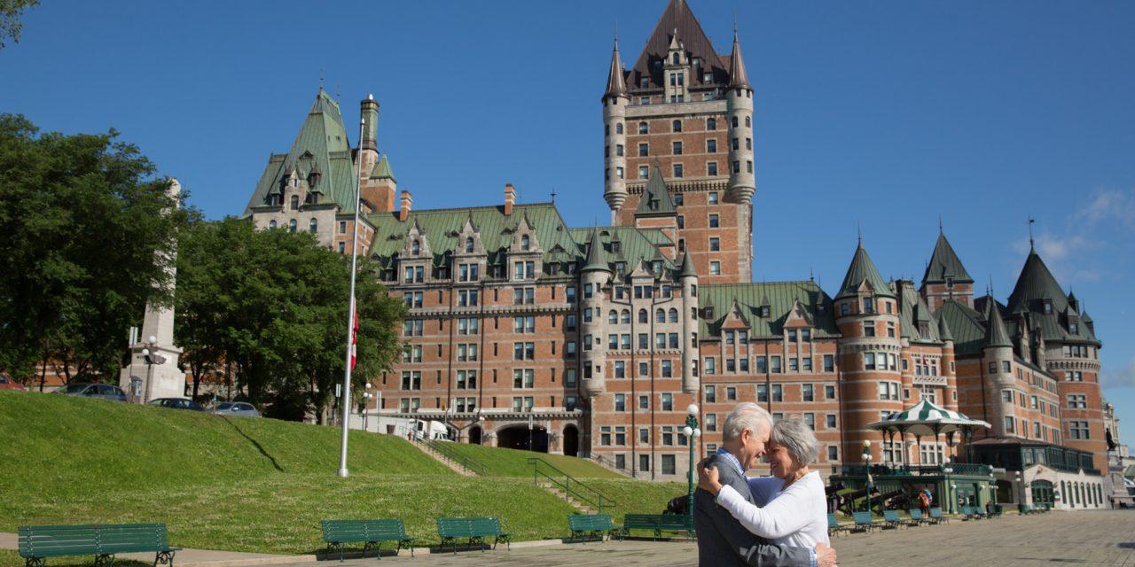 Anniversary Love in Quebec City