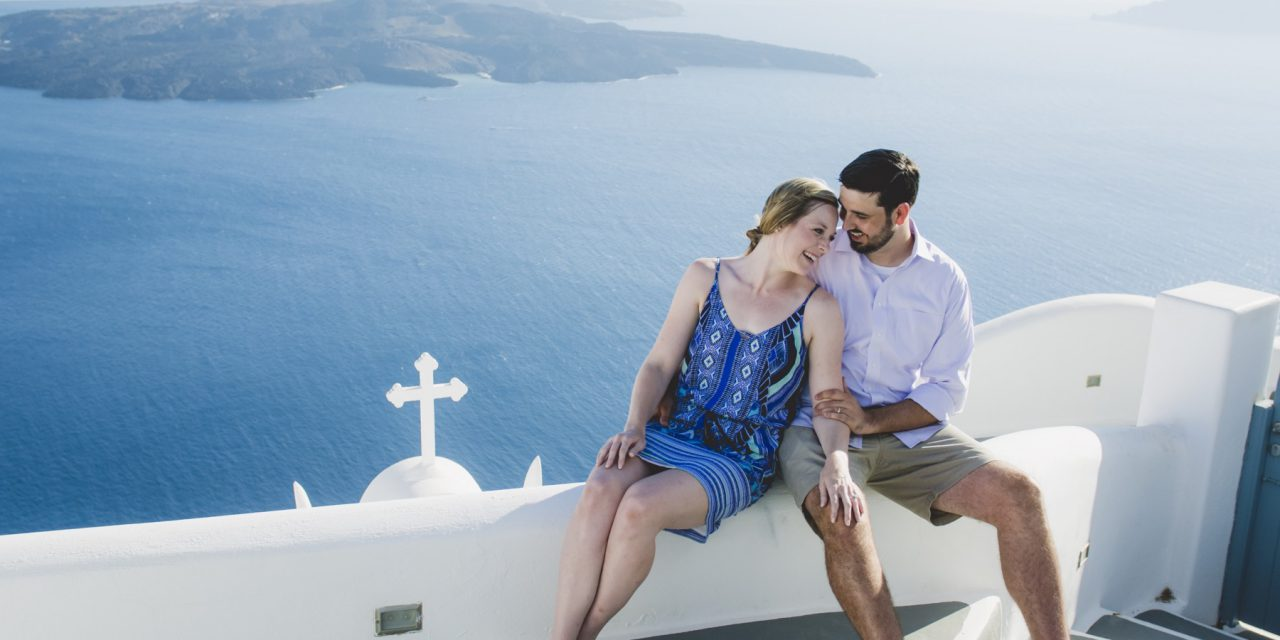 Dreamy Honeymoon Adventure in Santorini