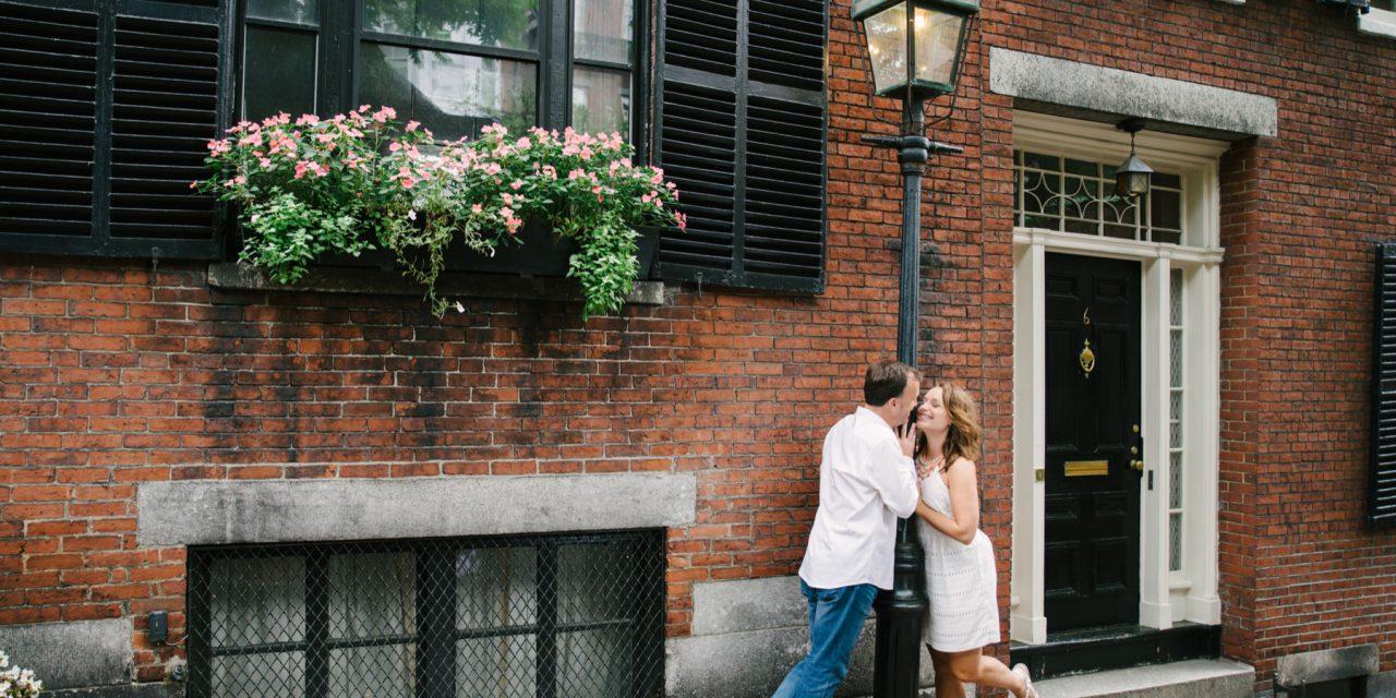 A Classic Boston Engagement