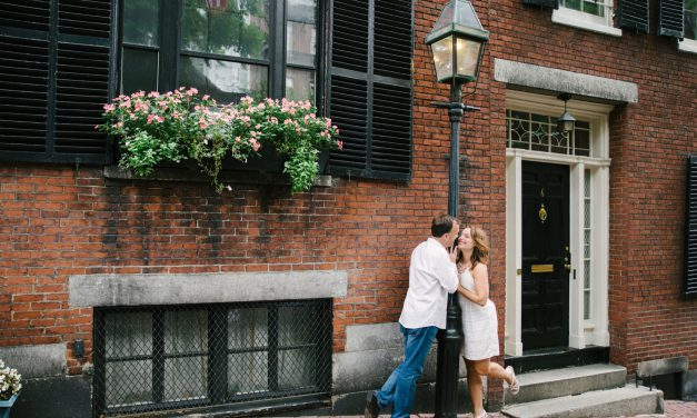 A Classic Boston Engagement
