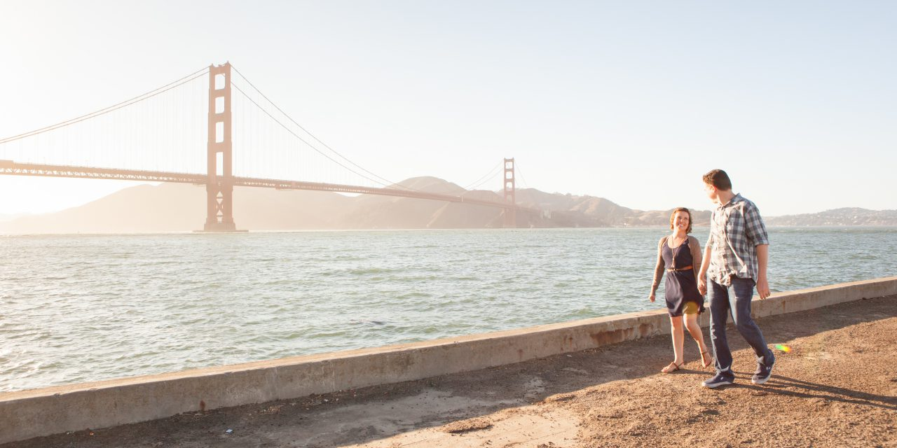 A Picturesque San Francisco Anniversary Shoot