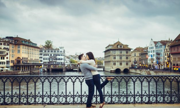 Riverside Romance in Zurich