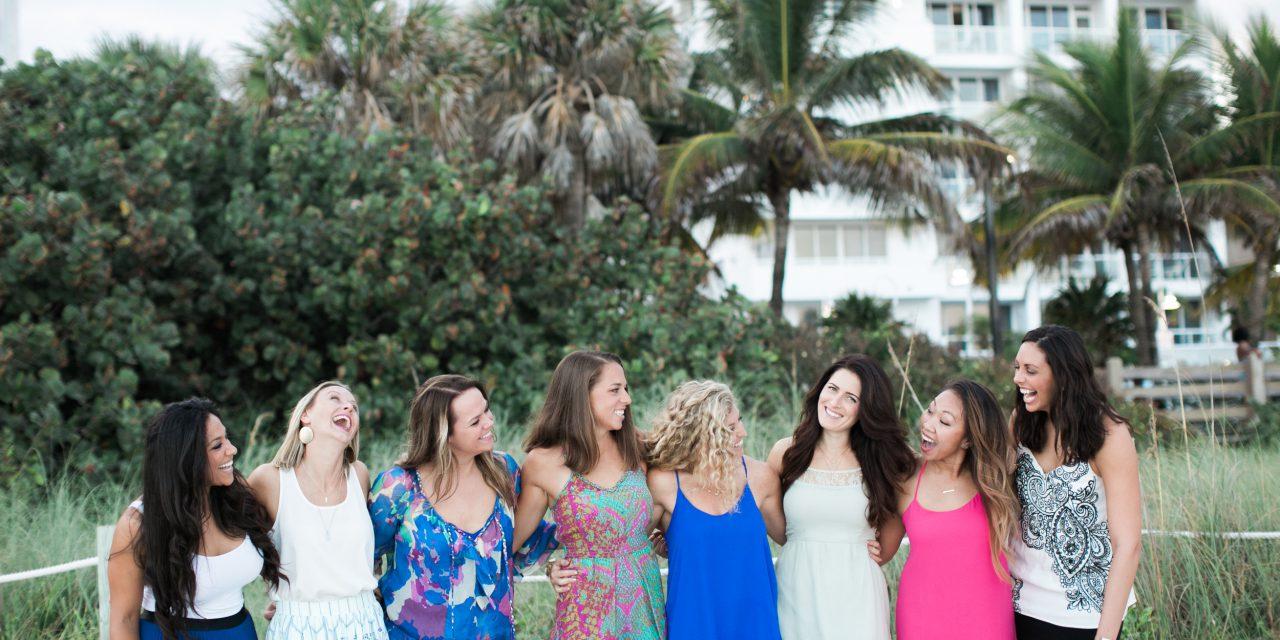 Bachelorette Bash on Miami Beach
