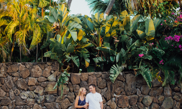 Newlywed Beach Escape in Hawaii