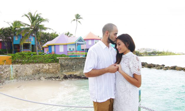 Colourful Engagement Celebration in the Bahamas