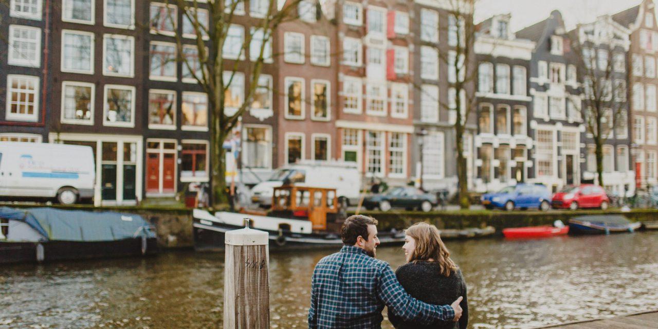 High School Sweetheart Honeymoon in Amsterdam