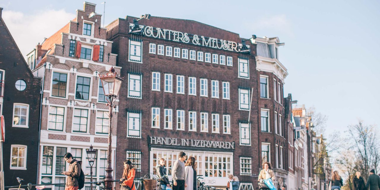 An Adorable Amsterdam Engagement