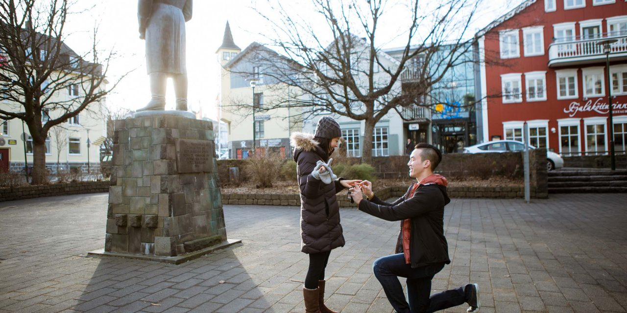 An Adrenaline Junkie's Adventurous Icelandic Proposal