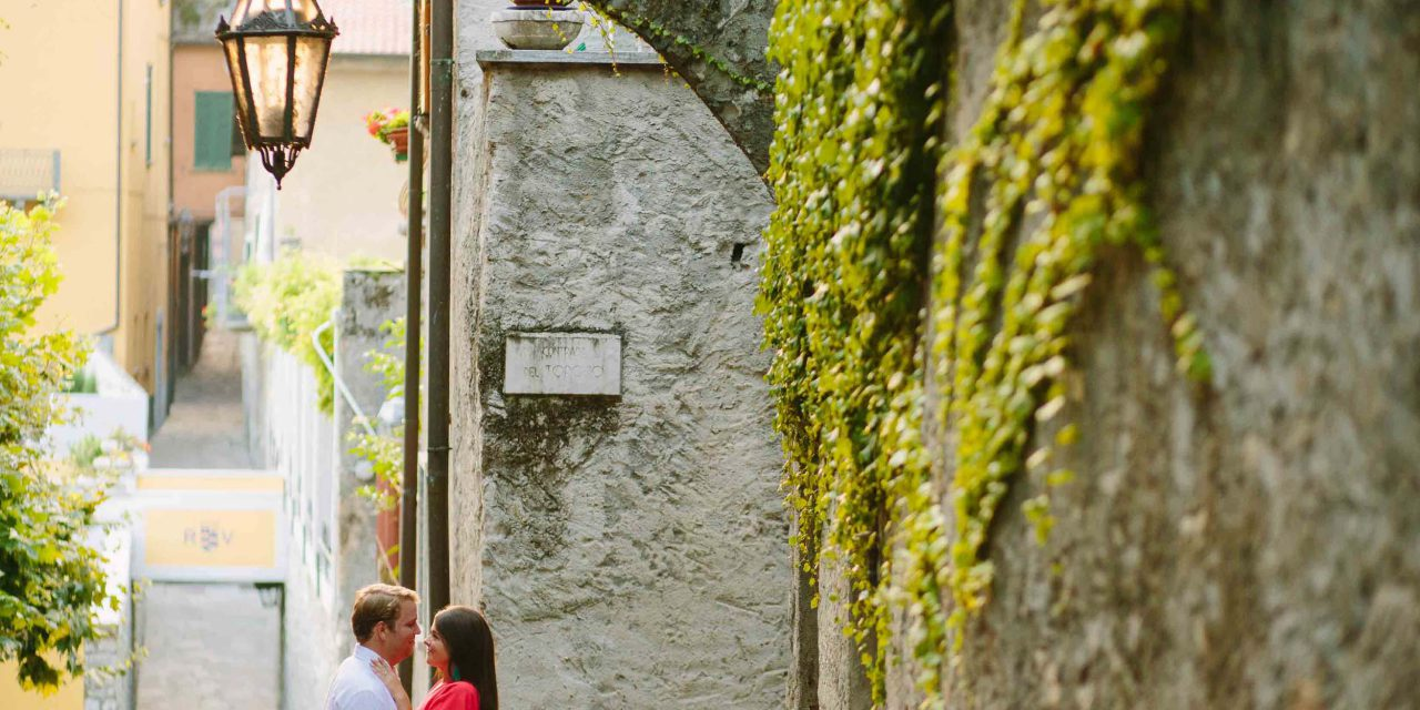 A Romantic Surprise in Stunning Lake Como
