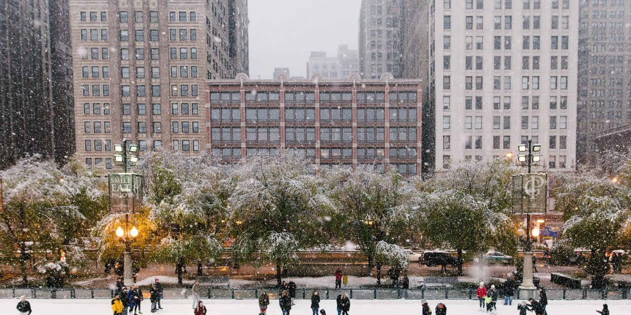 A Magical Snowy Surprise Proposal in Chicago