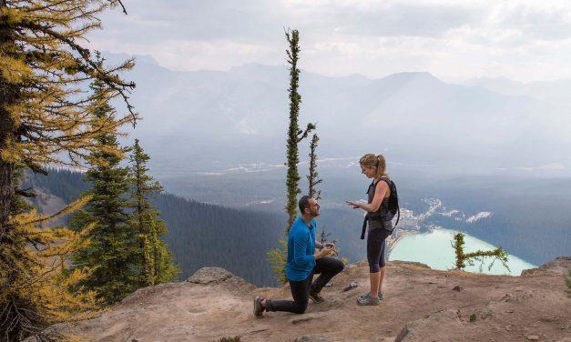 A Breathtaking Lake Louise Proposal At 7,000 Feet