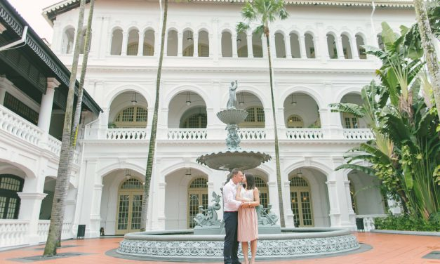 A Gorgeous Singapore Proposal Full of Epic Surprises