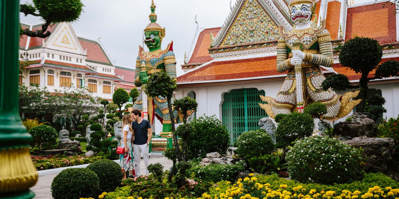 An Epic Honeymoon Gets Started in Bangkok