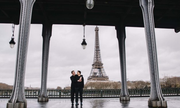 A Surprise Proposal in Paris After Love Wins the Vote