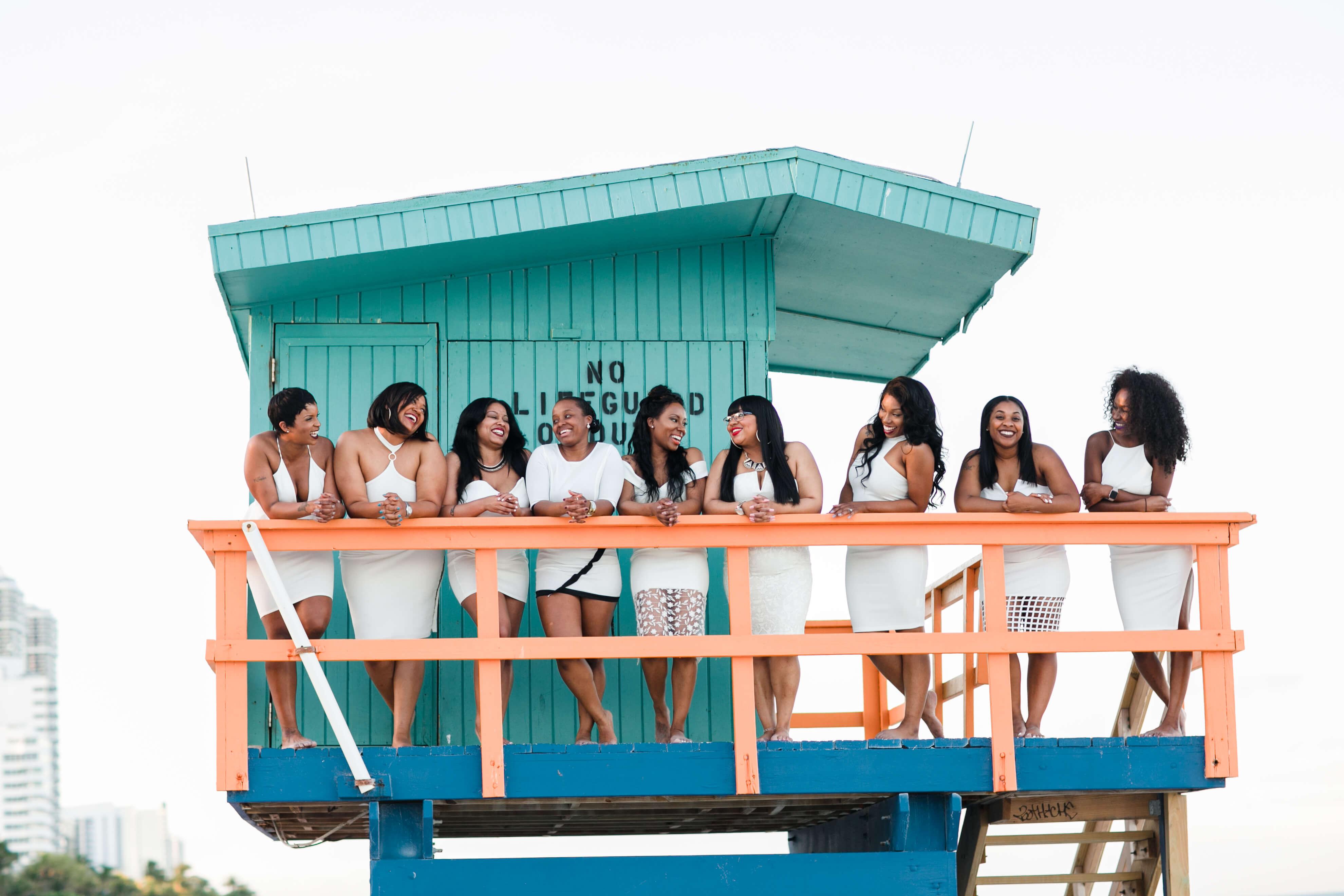 Bachelorettes in Miami, Florida