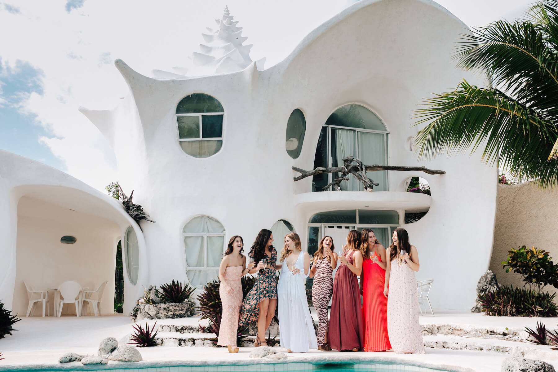 bachelorettes in Cancun, Mexico