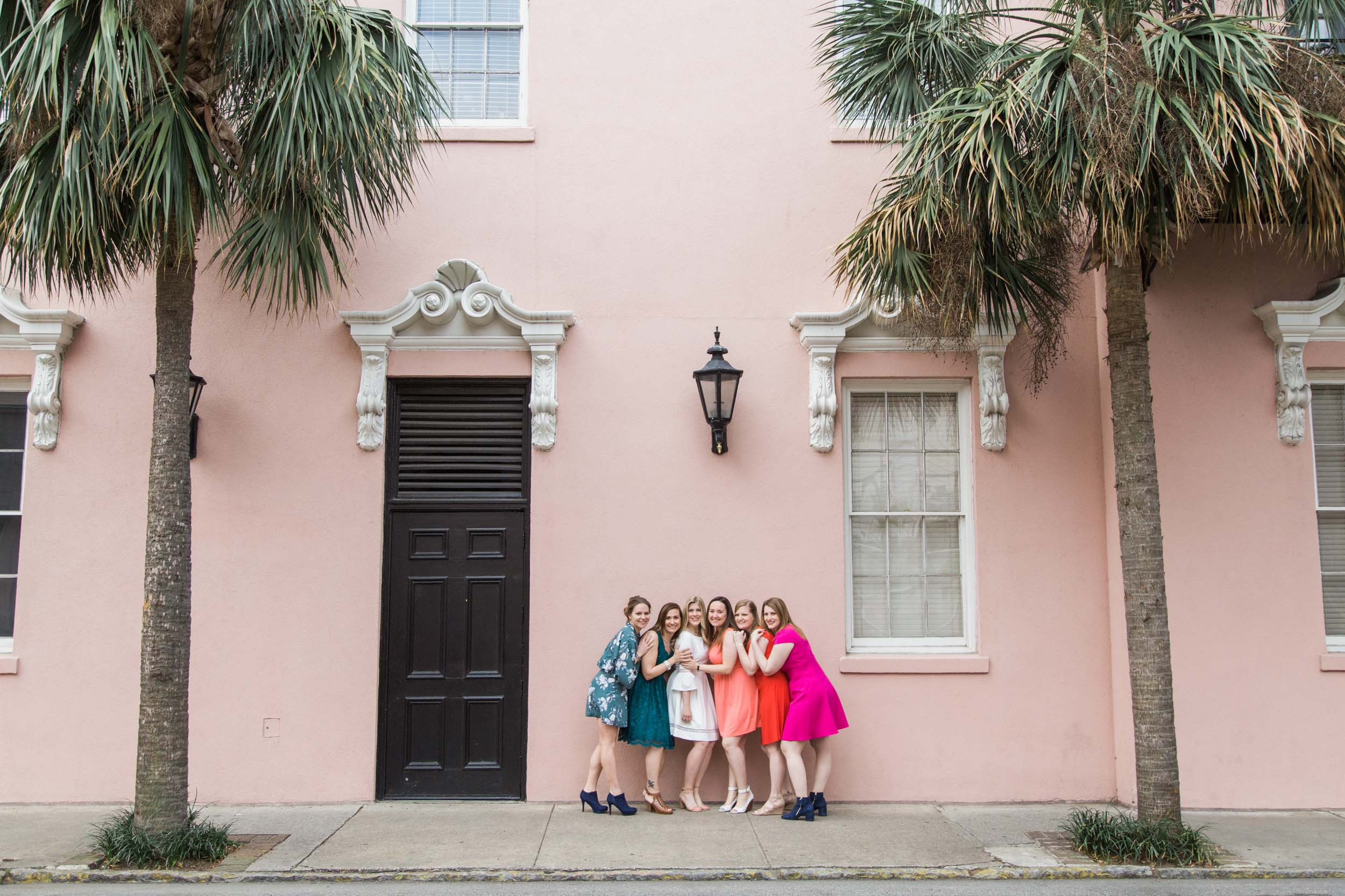 bachelorettes in Charleston, South Carolina