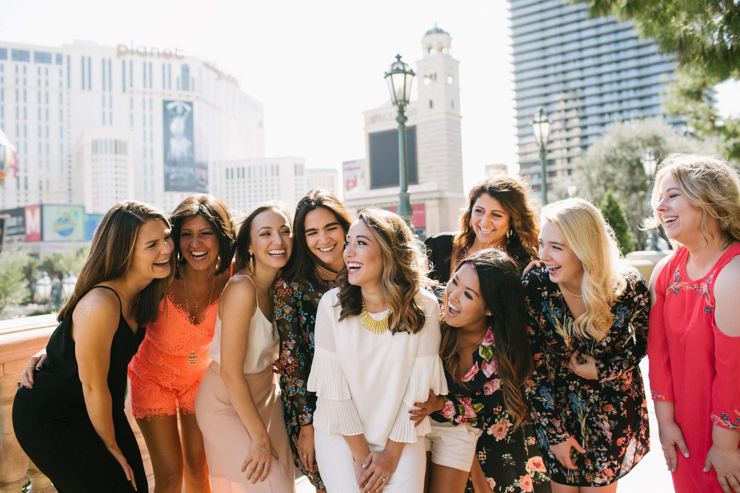 Bachelorettes in Vegas, Nevada