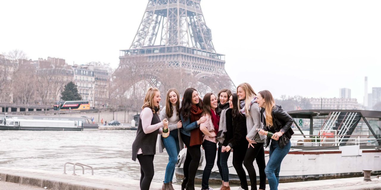 BFFs Come Home from Paris with the Best Souvenir — A New Friend