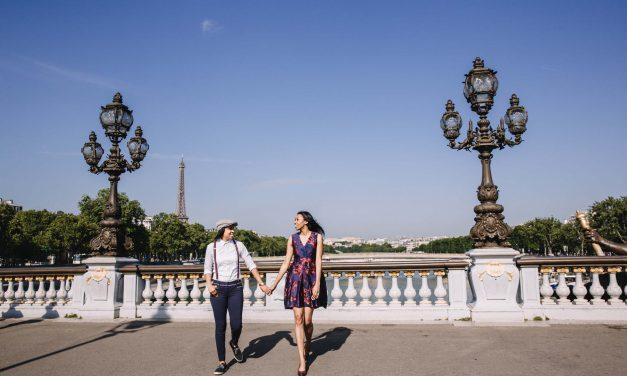 A Pride-ful Paris Engagement