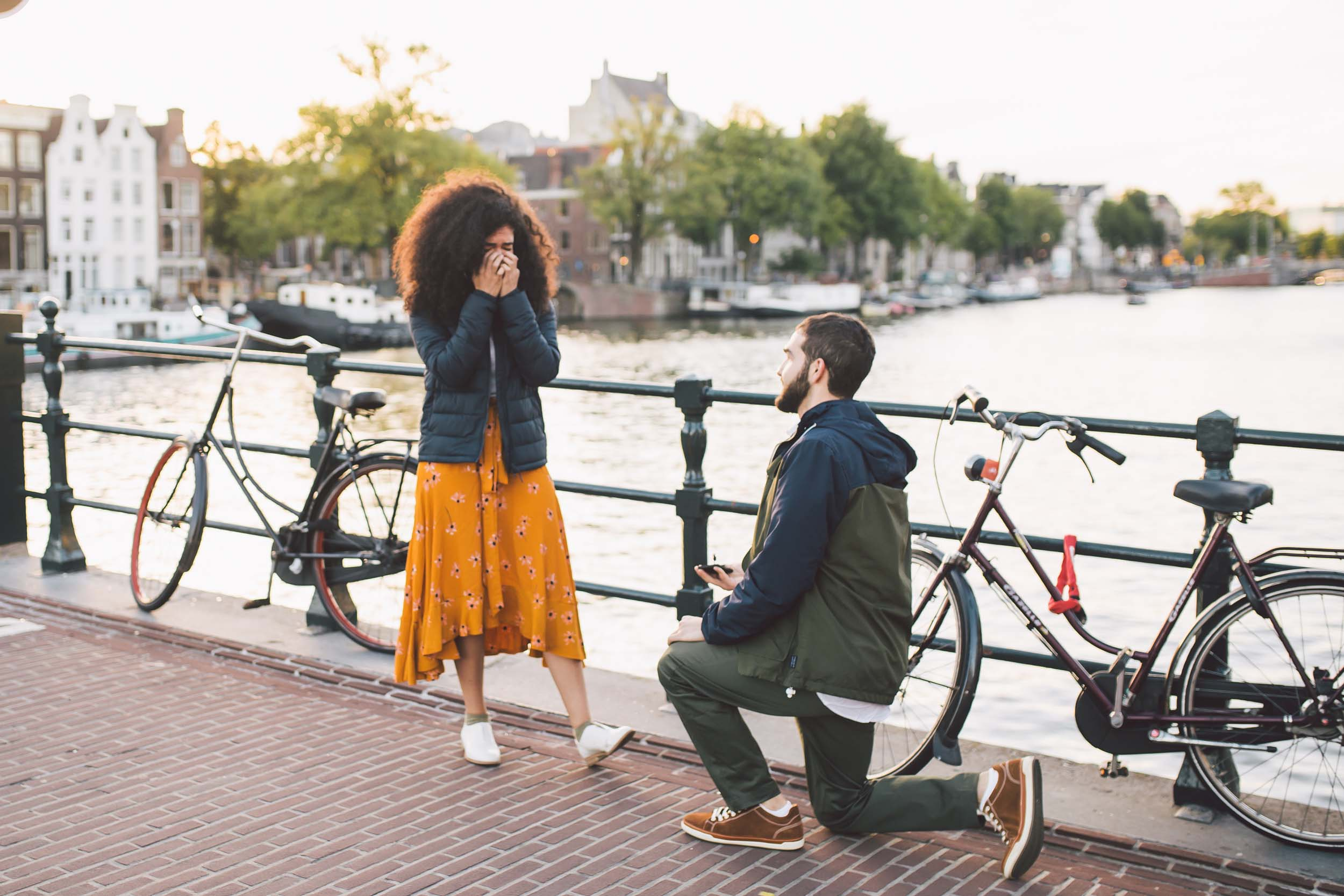 This Iconic Amsterdam Proposal Will Give You All the Feels
