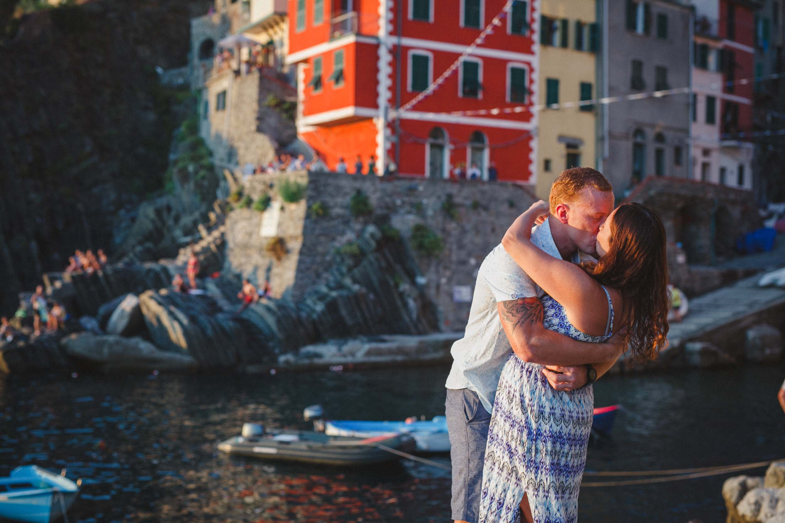A Cinque Terre Proposal Inspired by the Beauty of the Seaside