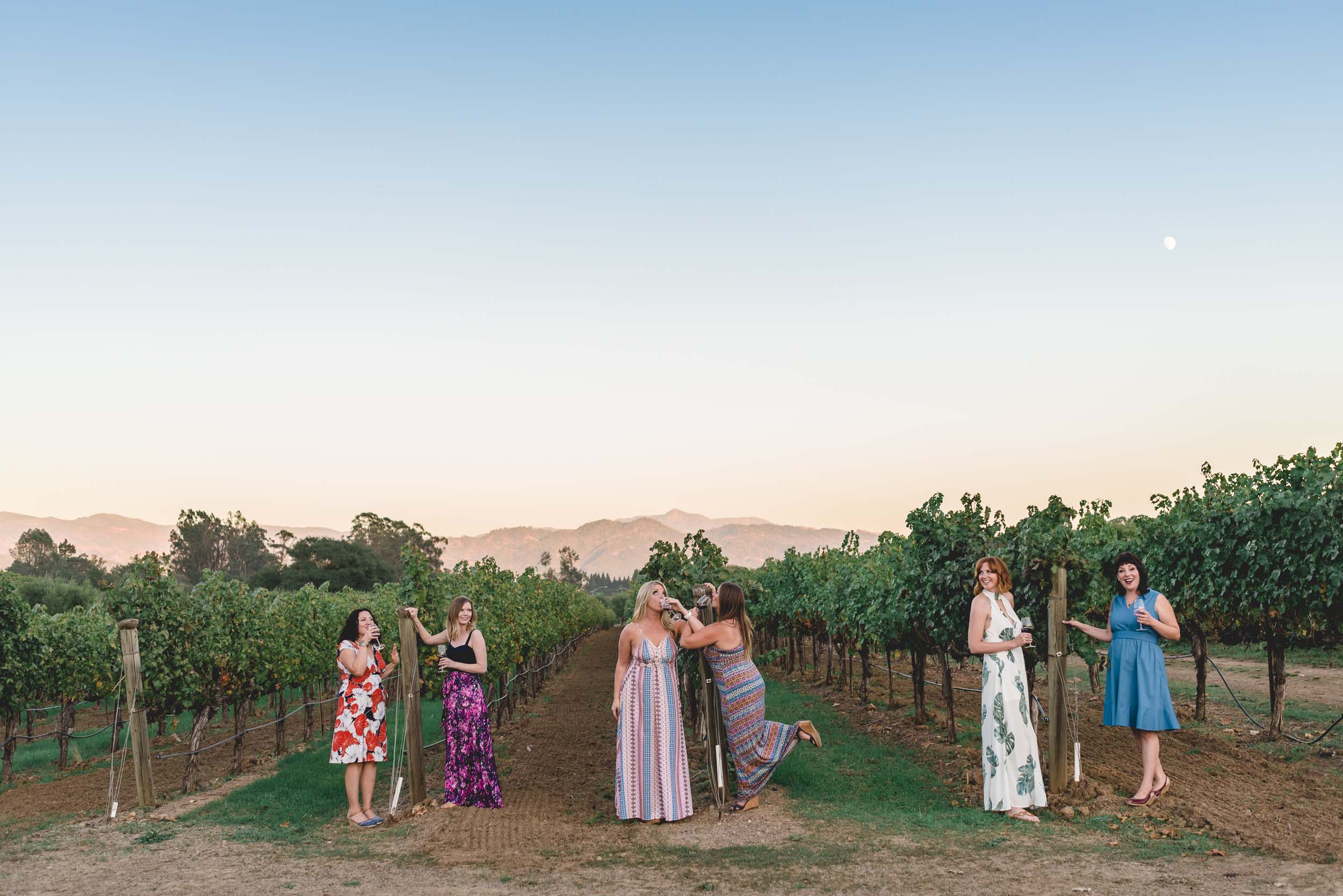 The Case for Booking a Girls' Trip to Napa… and Documenting It