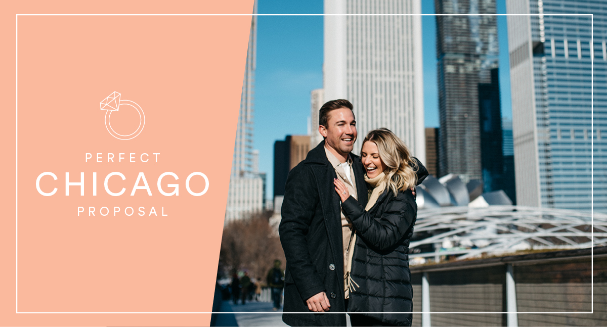 A Dreamy Winter Proposal in Chicago