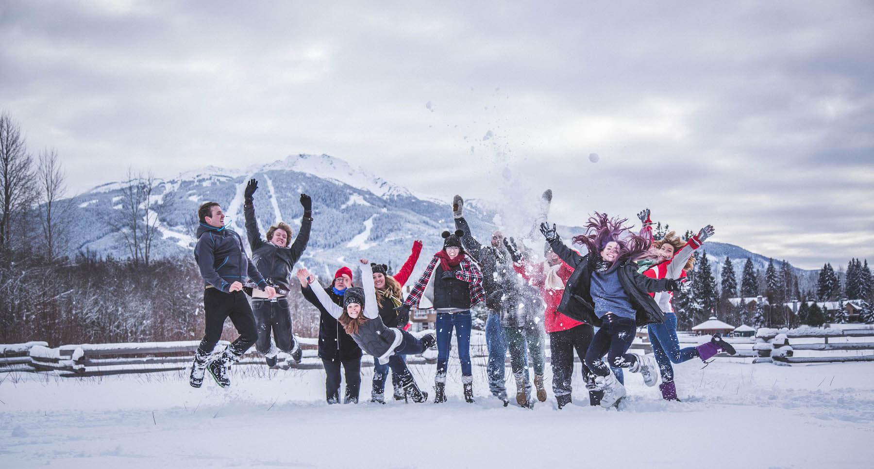Family in Whistler, British Columbia