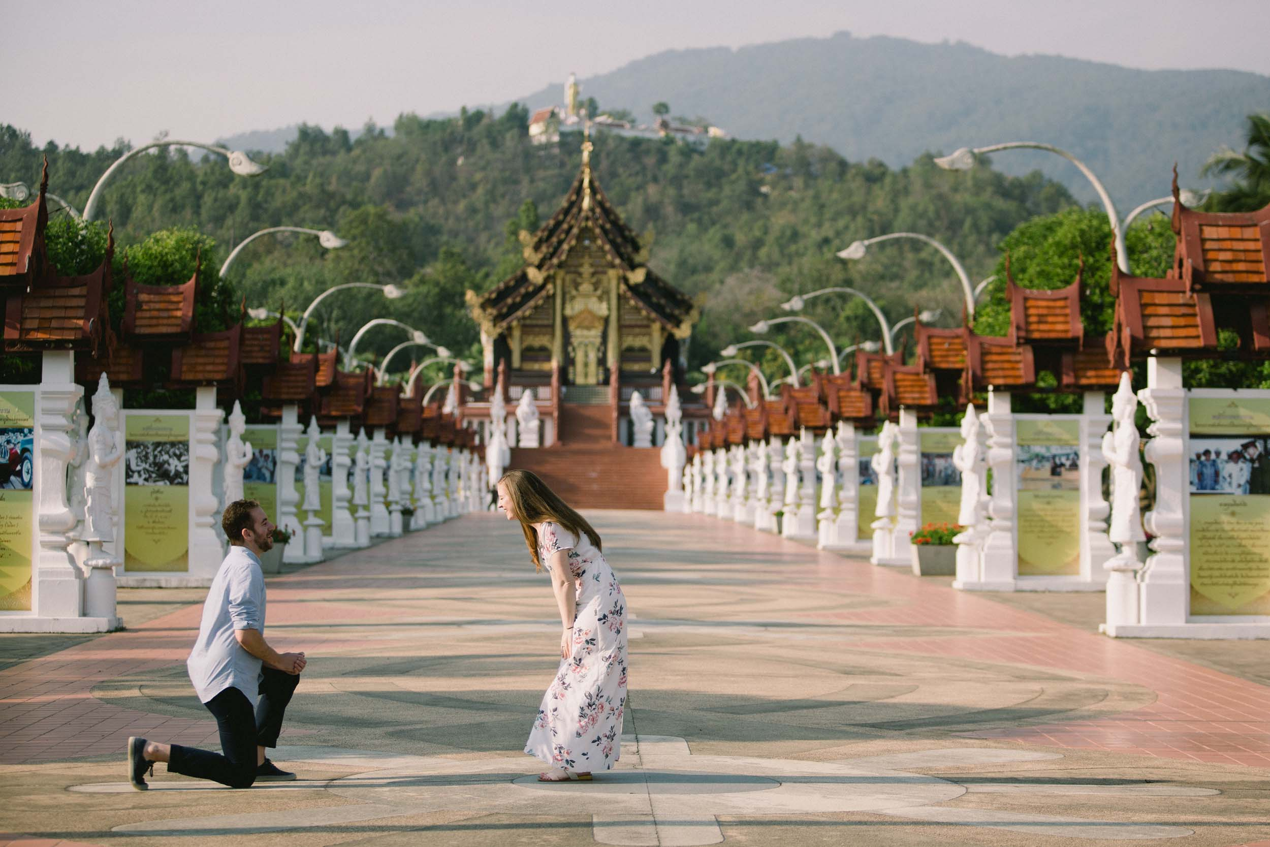 An Adventurous Couple and Their Chiang Mai Proposal