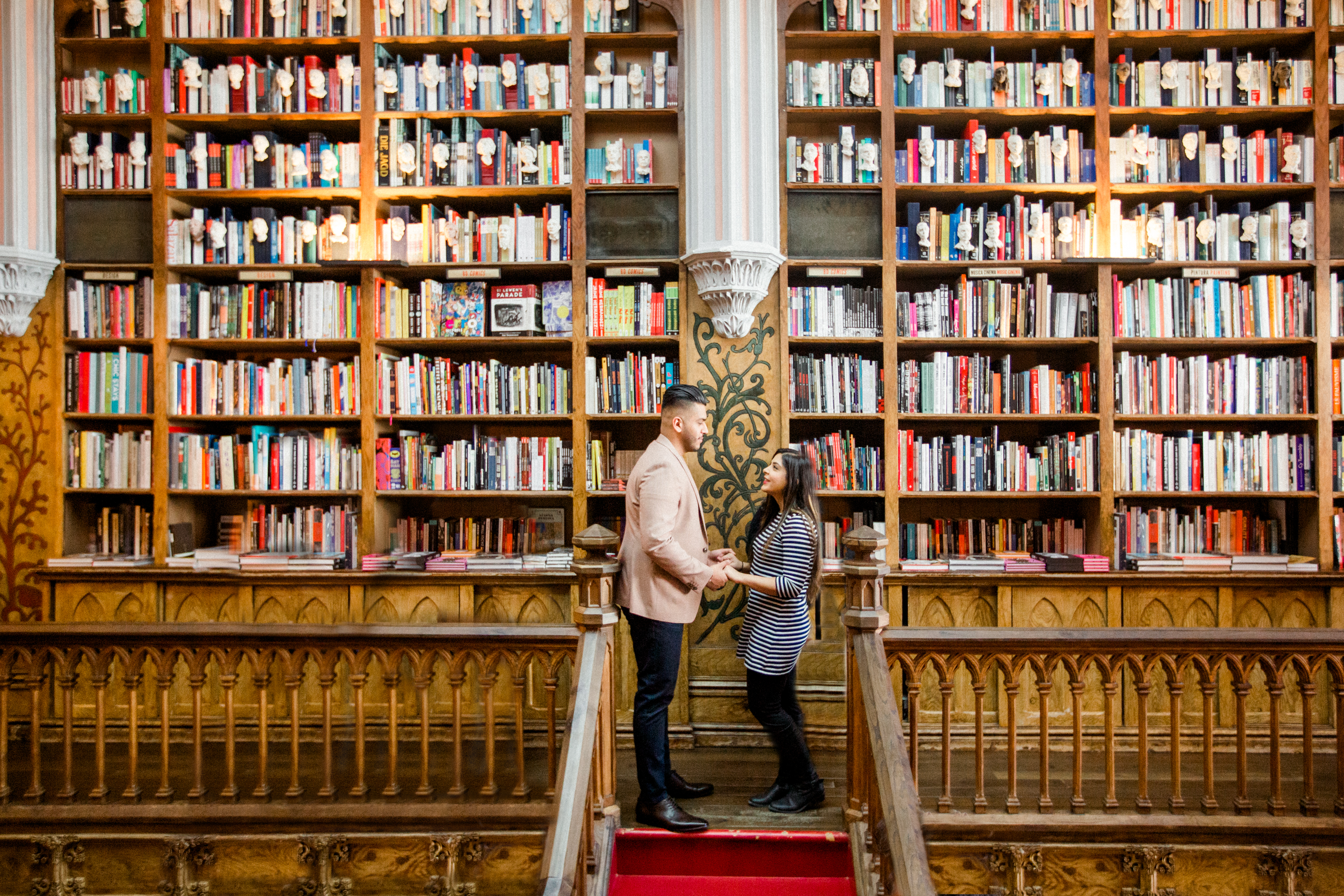 A Porto Proposal Perfect For a Book Lover