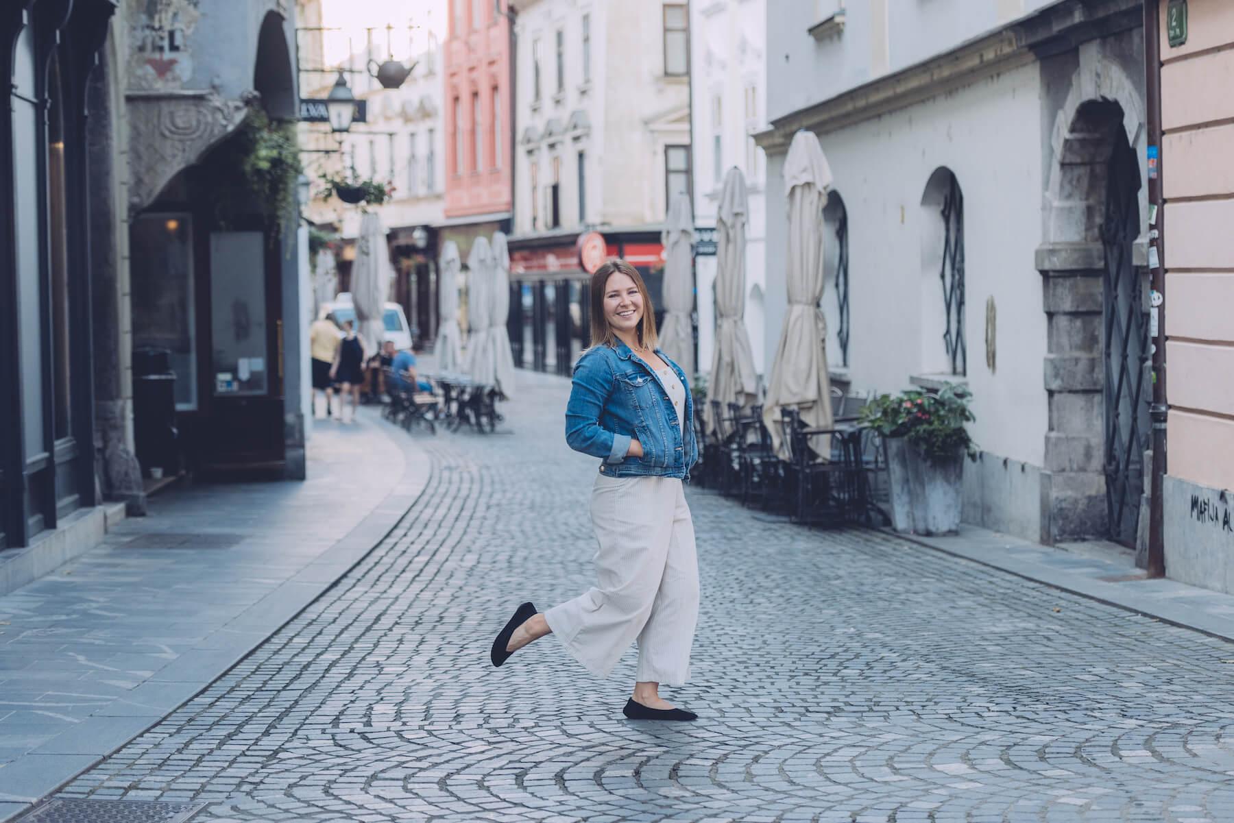 Solo traveller in Ljubljana, Slovenia