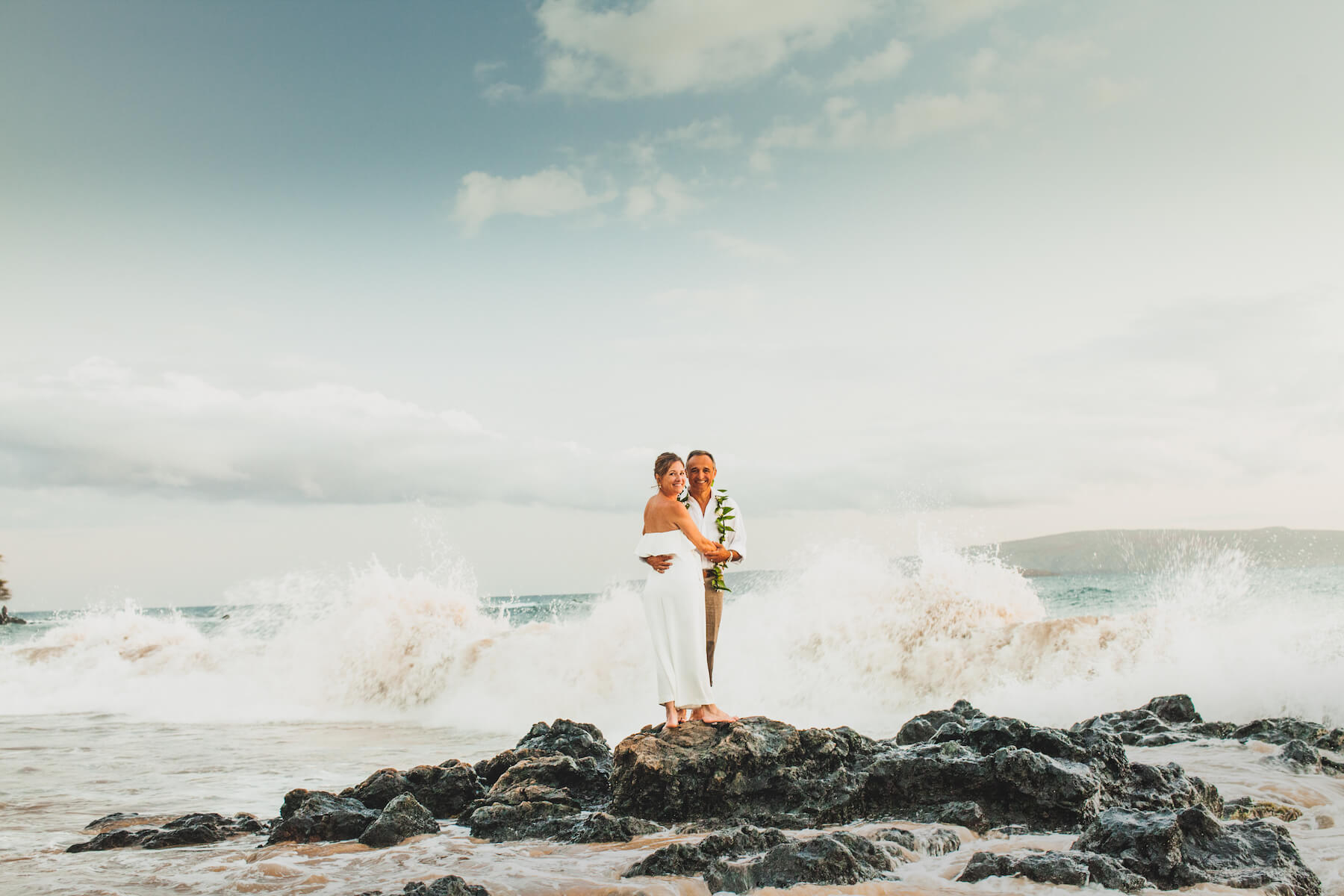 Couples trip in Maui, Hawaii