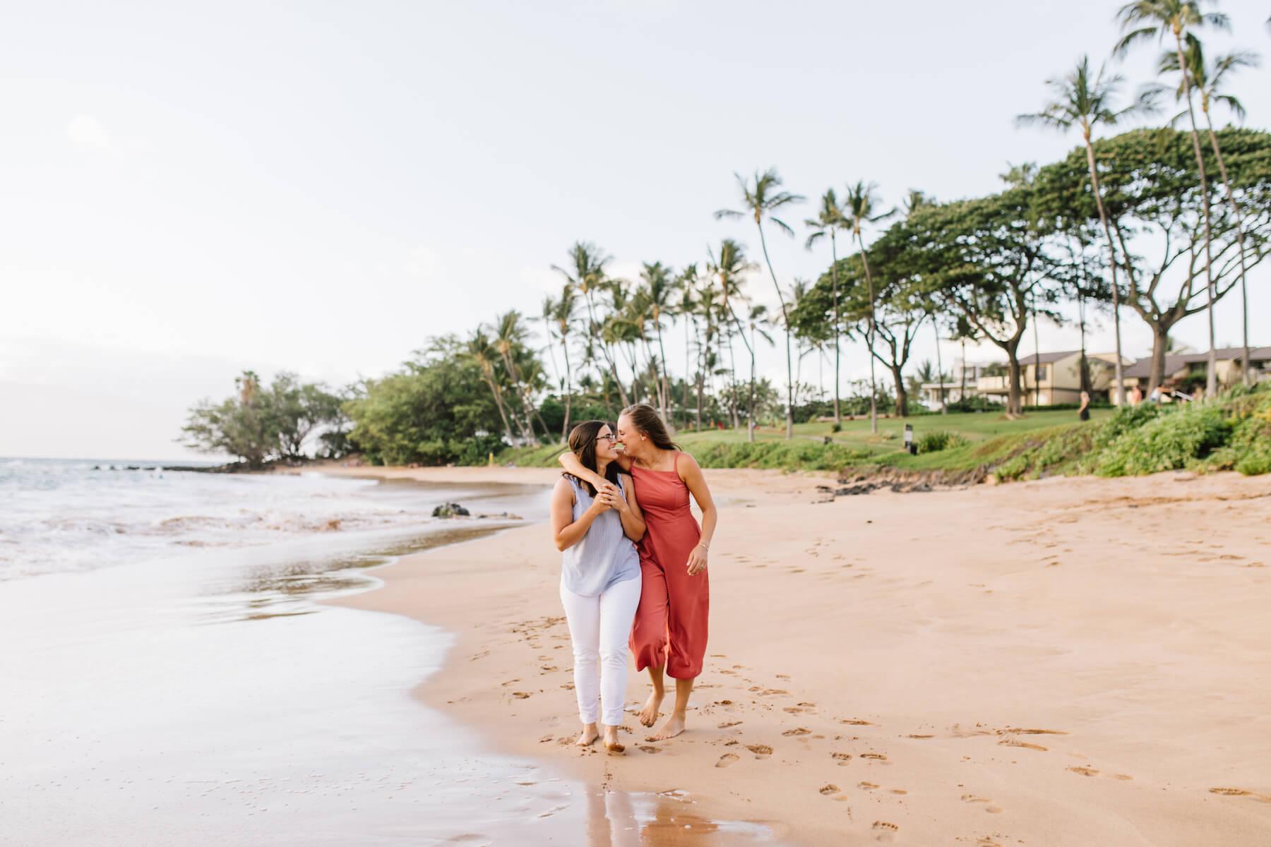 LGBTQ Couple in Maui, Hawaii