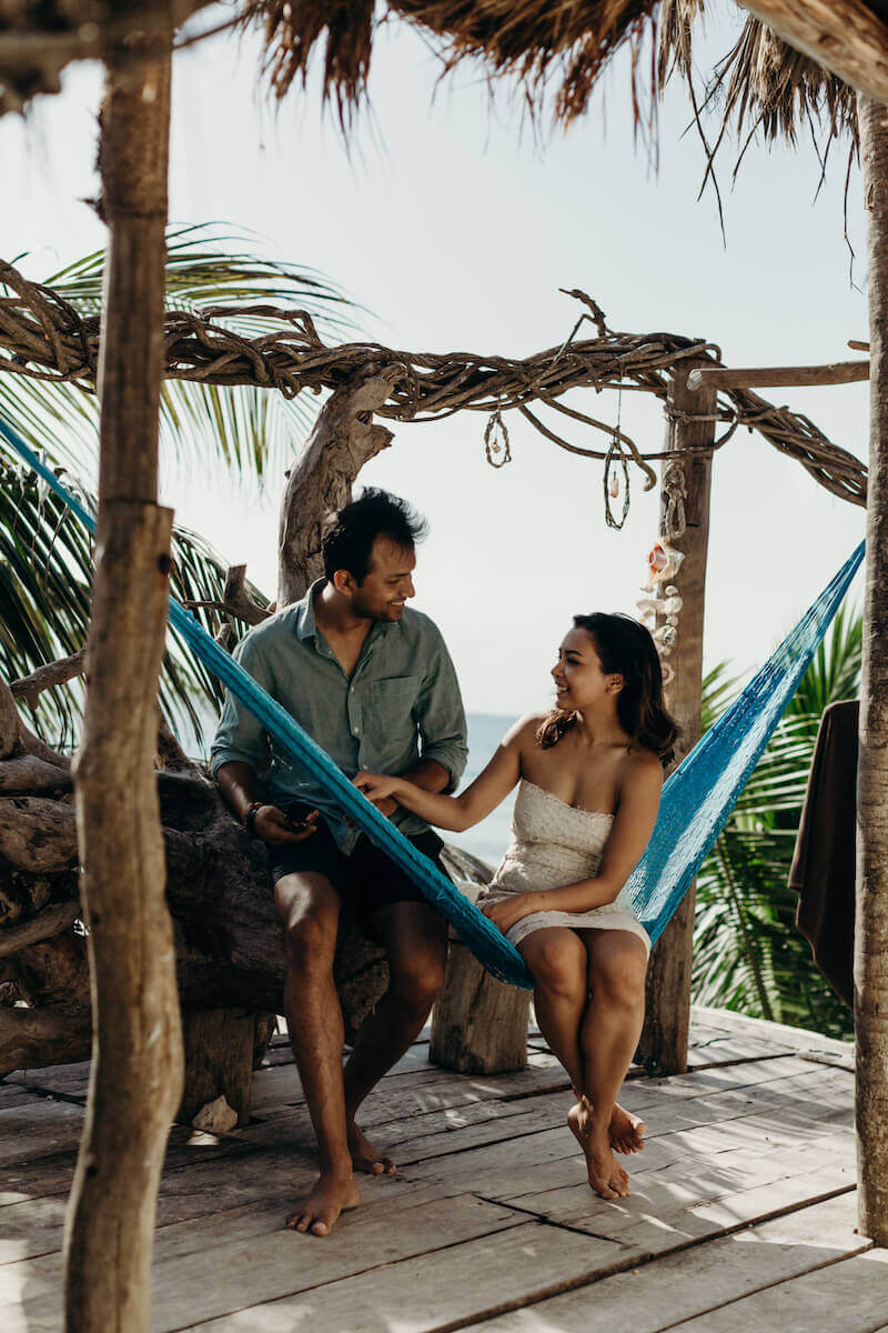 Couples trip in Tulum, Mexico