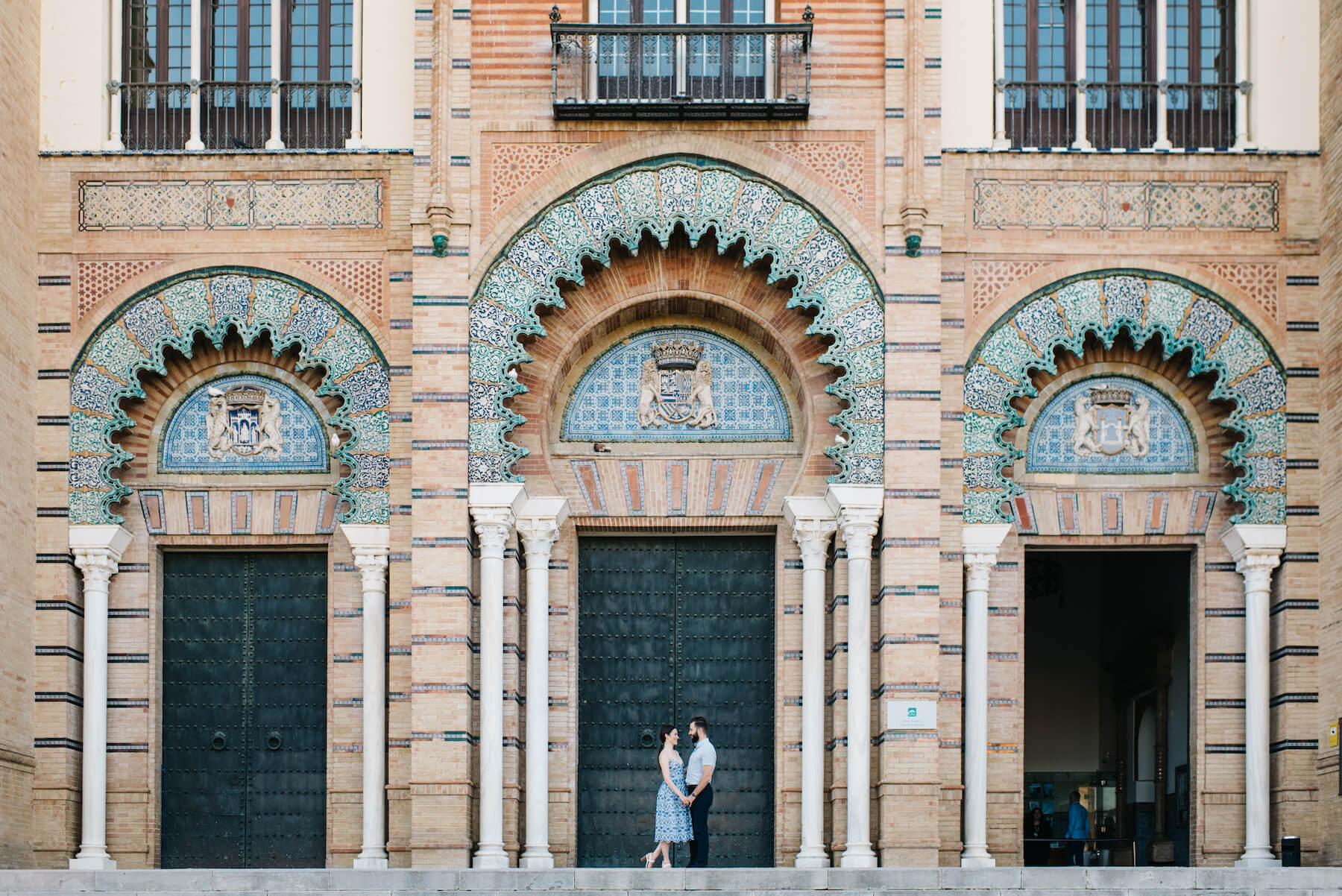 Couples trip in Seville, Spain