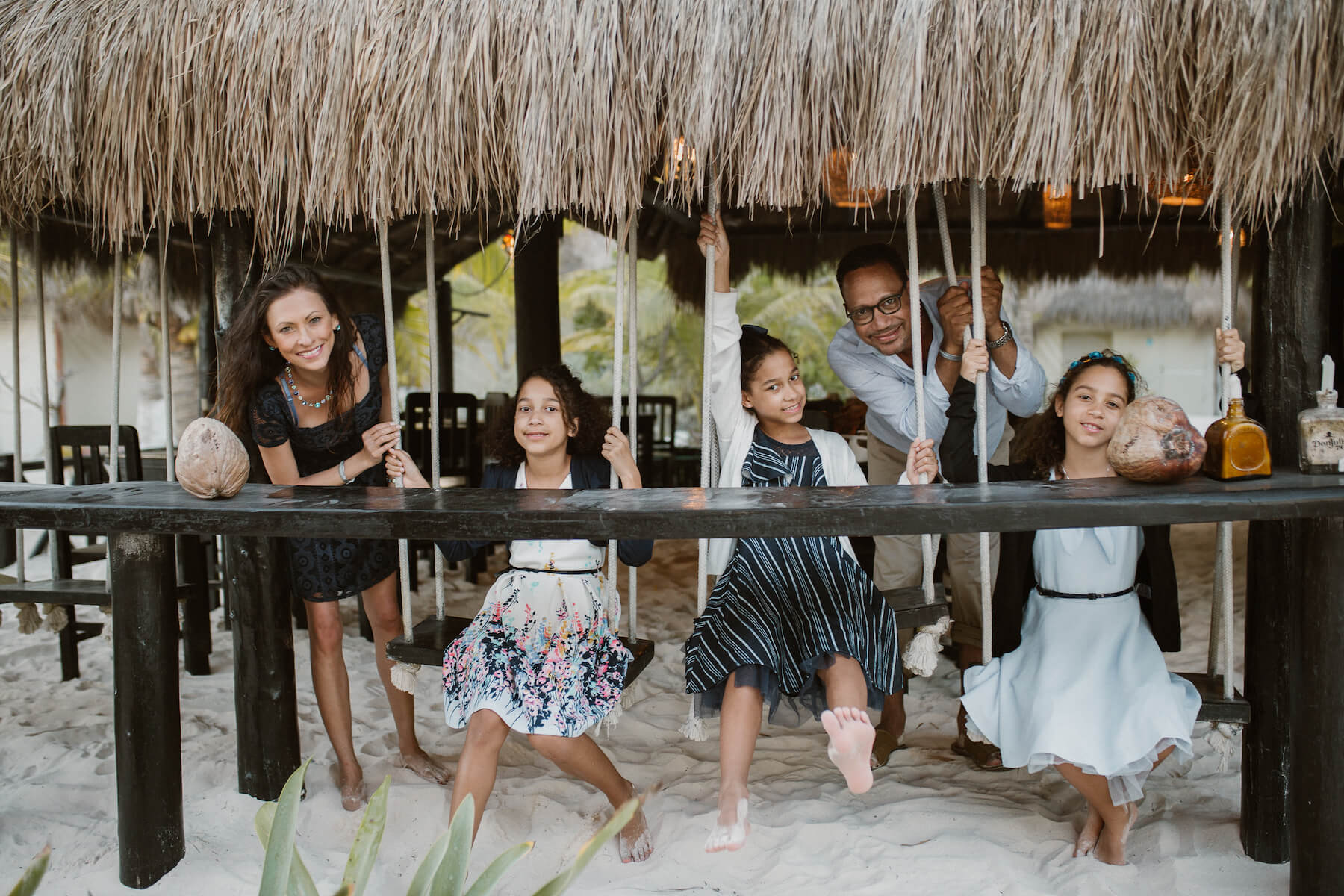 Family trip in Tulum, Mexico
