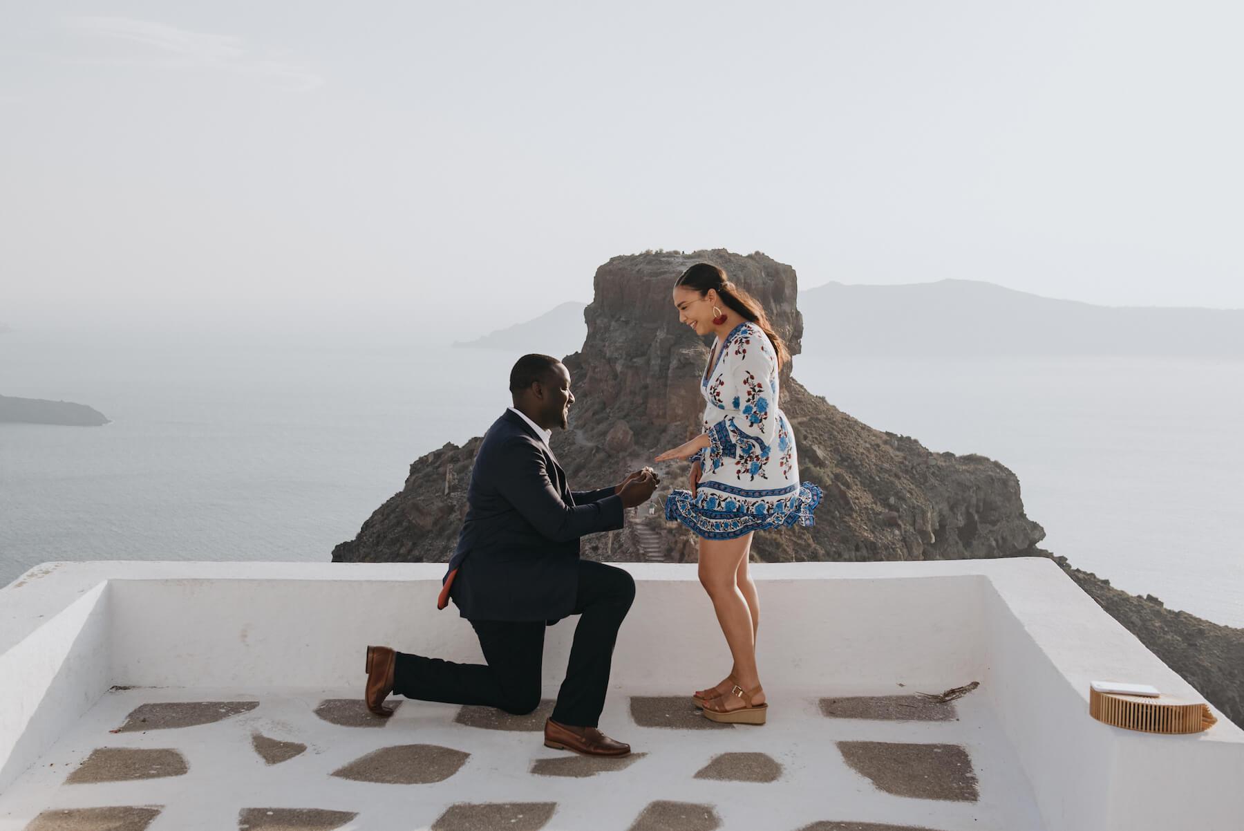 Epic Santorini Proposals