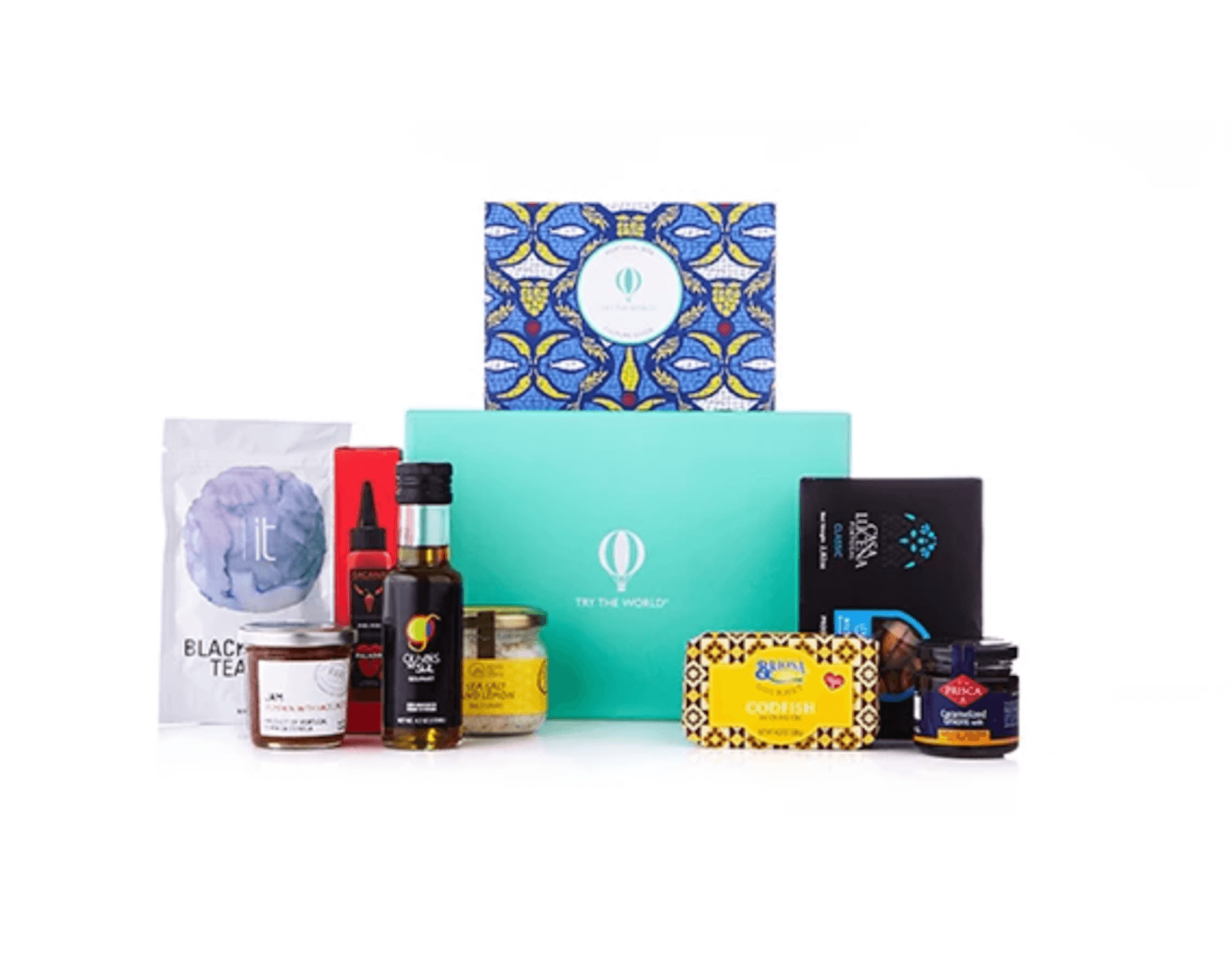 image of a gift box from the online shop Try the World