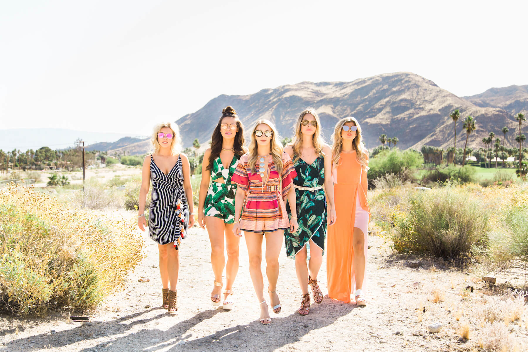 Bachelorette in Palm Springs
