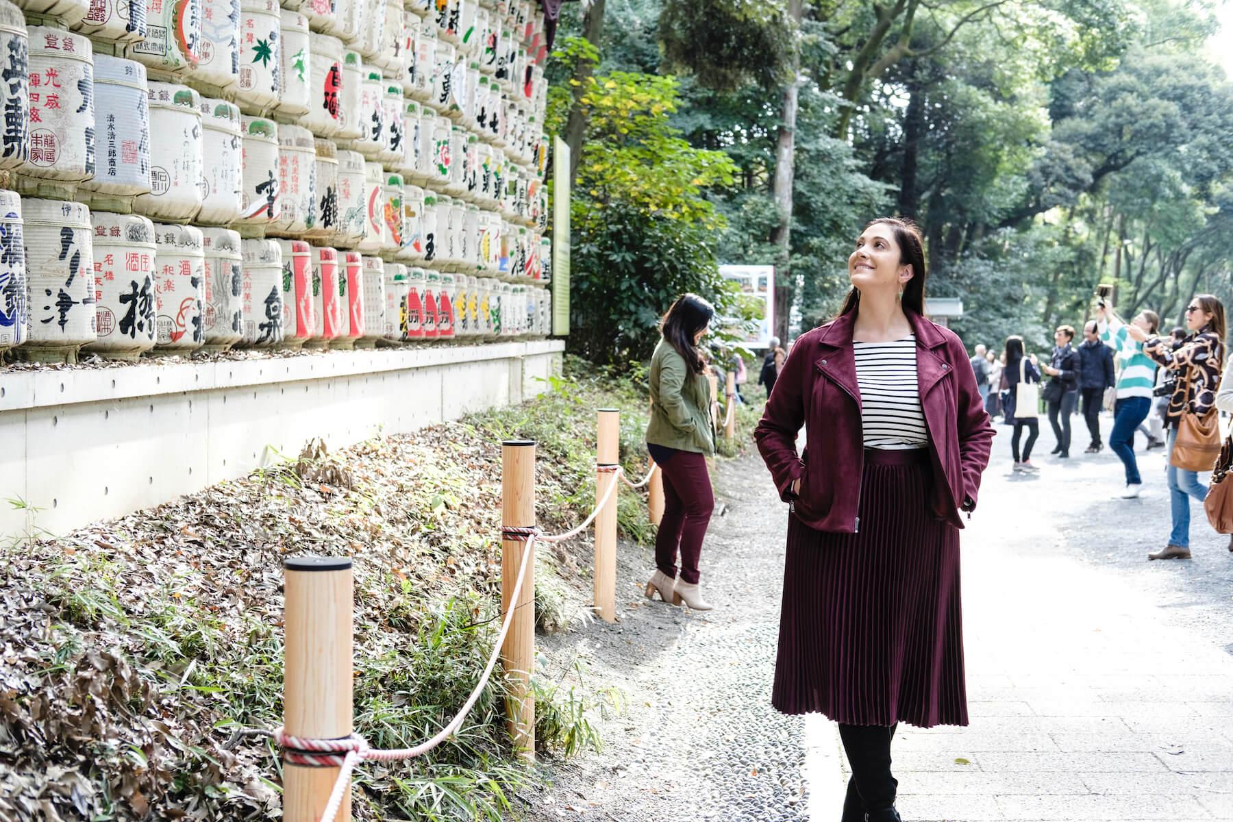 Solo Traveler in Tokyo Japan